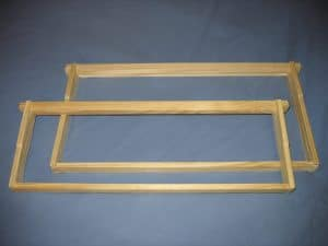 Langstroth hive frames