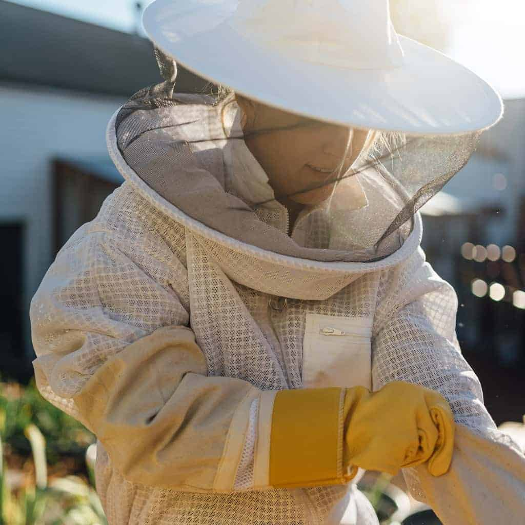 Bee suit and veil