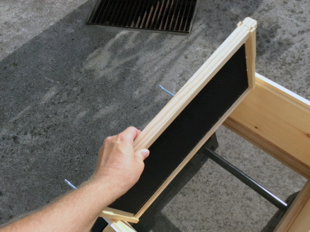 Placing Frames in the Deep Box
