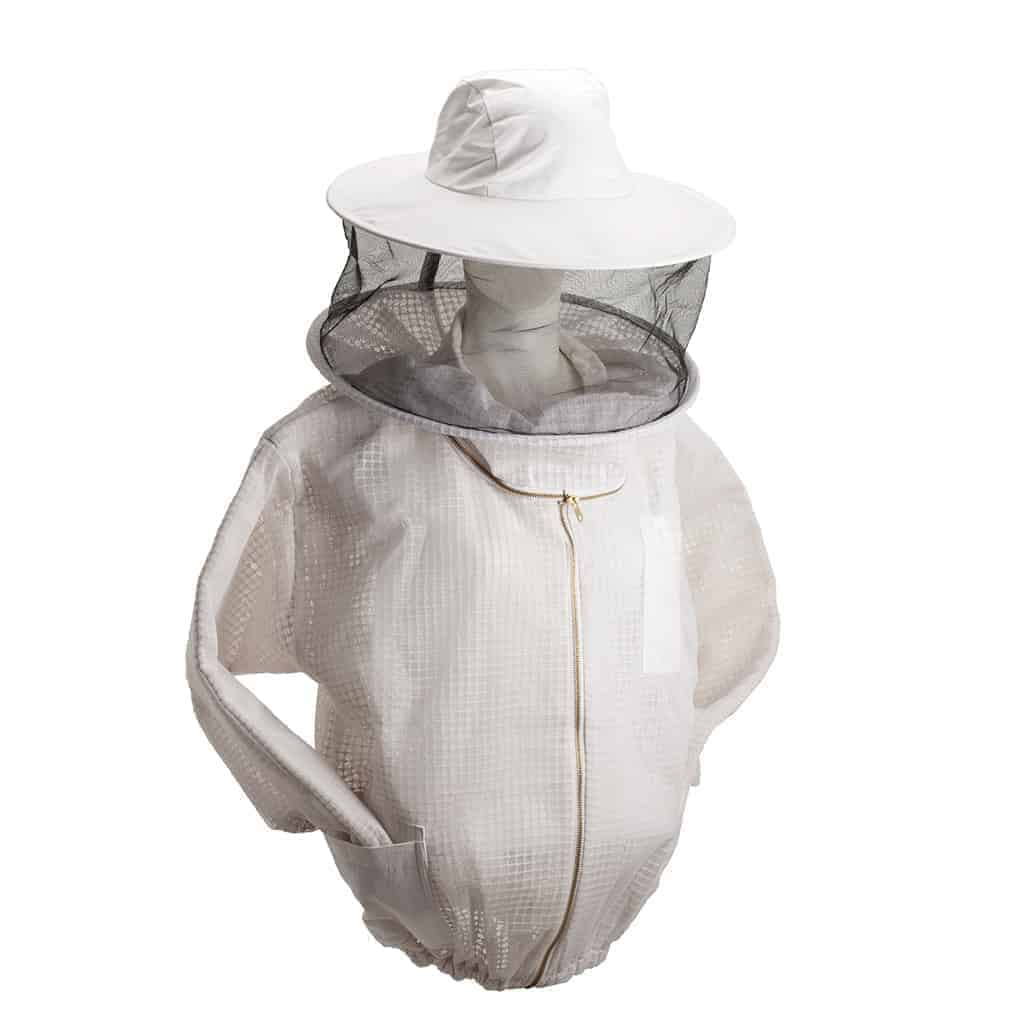 Ventilated Beekeepers Jacket And Veil