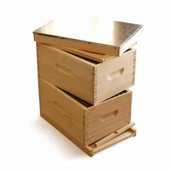 Complete 8 Frame Langstroth Hive