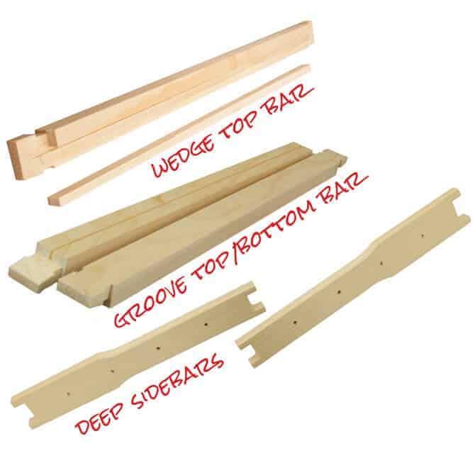 Unassembled Wooden Frames