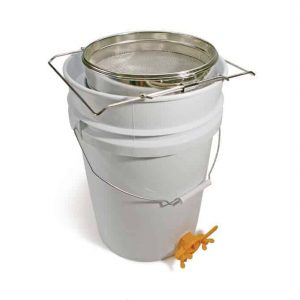 Honey Sieve & 5 Gallon Tank