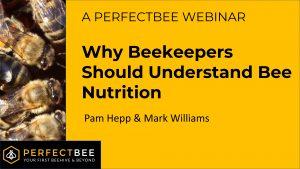 Bee Nutrition Webinar